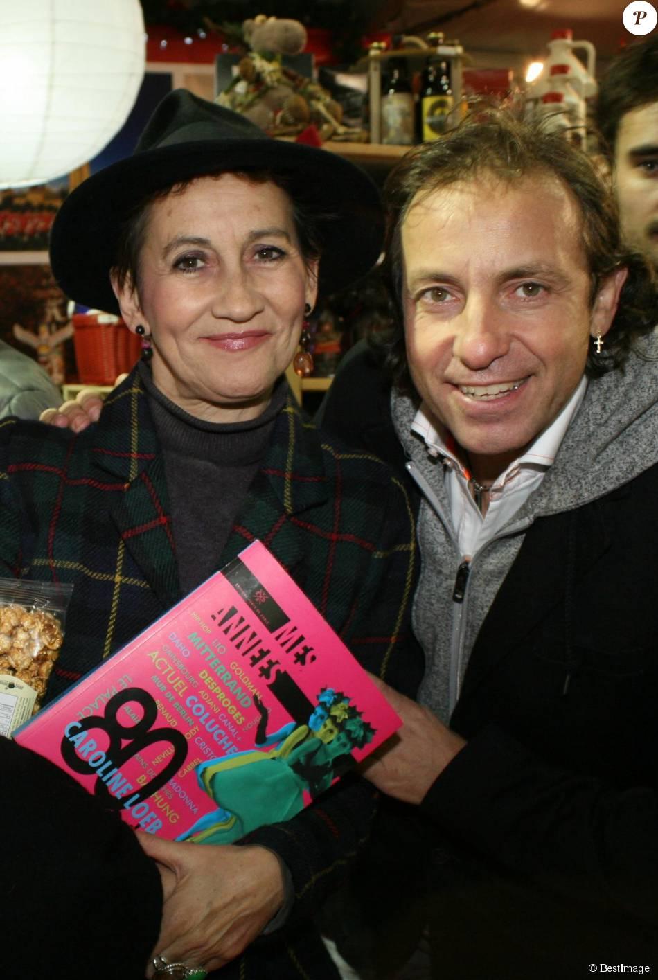 Caroline Loeb et Philippe Candeloro - Lancement du Marché de Noël de La Défense le 26 novembre 2015.