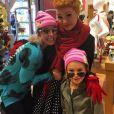 Britney Spears fête Thanksgiving avec sa nièce Maddie à Universal Studios Hollywood / photo postée sur Instagram, le 26 novembre 2015.