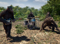 Coldplay : Chris Martin transformé en singe dansant pour un clip