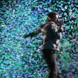 Chris Martin et son groupe Coldplay à Bercy le 14 décembre 2011.