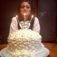 """""""Kylie Jenner fête ses 18 ans en famille / photo postée sur Instagram, au mois d'août 2015."""""""