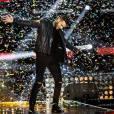 """Exclusif - M. Pokora en répétition le 3 décembre 2015 pour l'émission """"Bercy fête ses 30 ans - Le concert anniversaire"""", diffusée le 4 décembre sur TF1 en direct de l'AccorHotels Arena à Paris. © Veeren/Moreau/Bestimage"""