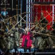 Concert de Madonna à l'AccorHotels Arena (ex-Bercy) à Paris, le 9 décembre 2015.