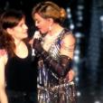 Christine and The Queens était l'invitée spéciale de Madonna lors de son concert à l'AccorHotels Arena (ex-Bercy) à Paris, le 10 décembre 2015.