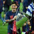 Lionel Messi à Berlin, le 6 juin 2015.