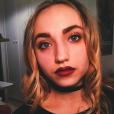 Chloé Jouannet, fille d'Alexandra Lamy (photo postée le 12 décembre 2015)