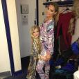 Katie Price a publié une photo avec sa fille Princess maquillée alors qu'elle n'a que 8 ans sur sa page Instagram, le 14 décembre 2015.