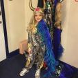 Katie Price a publié une photo de sa fille Princess maquillée alors qu'elle n'a que 8 ans sur sa page Instagram, le 14 décembre 2015.