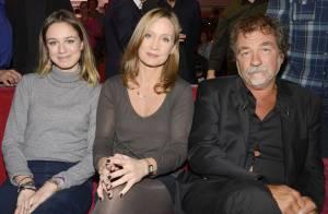 Olivier Marchal avec sa femme Catherine et leur fille Zoé : Fierté et franchise