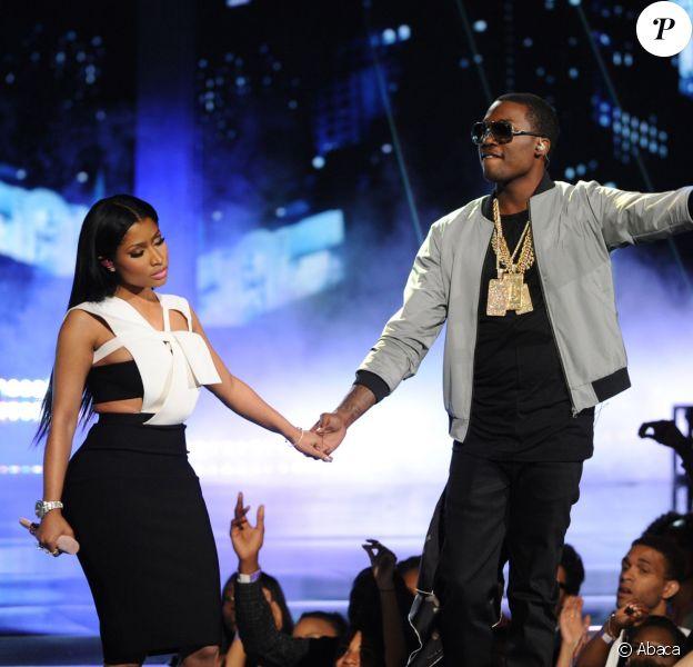 Nicki Minaj et Meek Mill aux BET Awards 2015 à Los Angeles. Le 28 juin 2015.