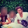 Matthieu, le petit ami d'Iris Mittenaere, Miss France 2016. Photo datant d'il y a quelques mois et postée sur le compte Instagram de sa petite soeur