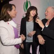 Nolwenn Leroy et Ségolène Royal radieuses pour les Trophées de l'environnement