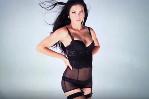 Adriana Lima : Fatale en lingerie pour le calendrier de l'amour...