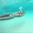 Marine Lorphelin à Tahiti, le 31 décembre 2015.