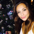 Marine Lorphelin, le 25 décembre à Tahiti, auprès de son petit ami.