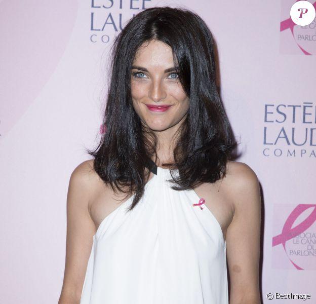 Pauline Delpech à Paris le 7 octobre 2014.