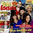 Magazine Télé-Loisirs en kiosques le 4 janvier 2016.