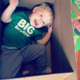 Kris Allen a annoncé sur les réseaux sociaux qu'il serait bientôt papa pour la 2e fois. Sa femme Katy attend actuellement leur deuxième enfant. Photo publiée sur Instagram, le 2 janvier 2015.