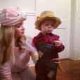 Katy Allen, la femme du chanteur Kris Allen et son fils Oliver Neil. Photo postée sur Instagram au mois de novembre 2015.
