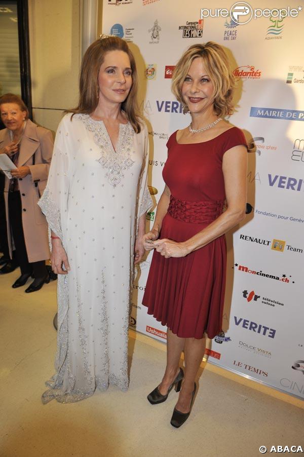 Cinema Vérité à l'Opéra Bastille: La Reine Noor de Jordanie et Meg Ryan