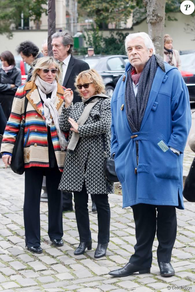 Christine weber et jacques weber obs ques de la com dienne marie dubois l 39 eglise de ville d - Jean francois balmer et sa femme ...