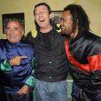 Claude Brasseur, Jean-Luc Reichmann et Christian Karembeu au Festival Epona, Cabourg, le 11/10/08