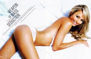 PHOTOS : Stacy Keibler : la catcheuse est en petite tenue... une des femmes les plus sexy du monde!