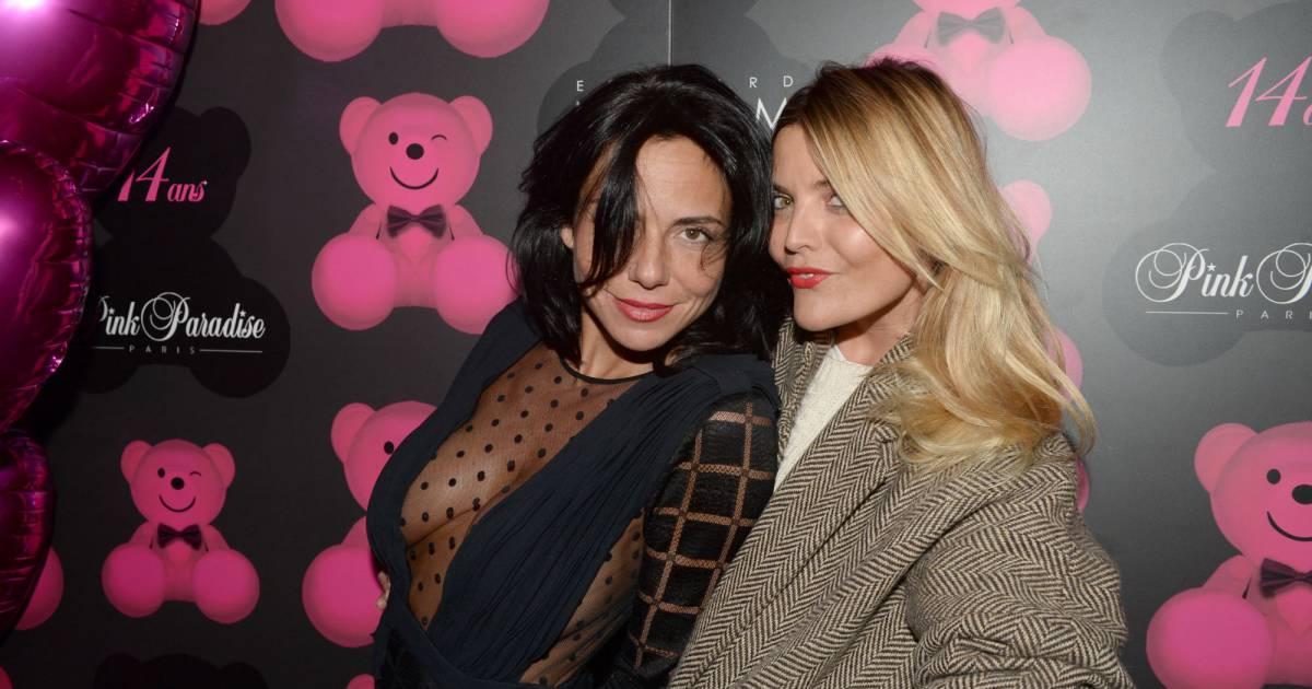 Zeitoun >> Exclusif - Sandra Zeitoun De Matteis et Justine Fraioli, lors de la soirée du 14e anniversaire ...