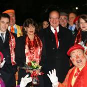 Albert de Monaco enchanté au cirque avec Stéphanie, Louis et Camille ravis