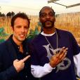 """""""Fabrice Sopoglian et Snoop Doog - Coulisses du tournage des """"Anges 8"""" pour NRJ12. Janvier 2016"""""""