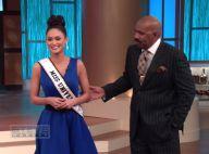 """Miss Univers 2015 : Steve Harvey, retrouvailles salées avec ses deux """"victimes"""""""