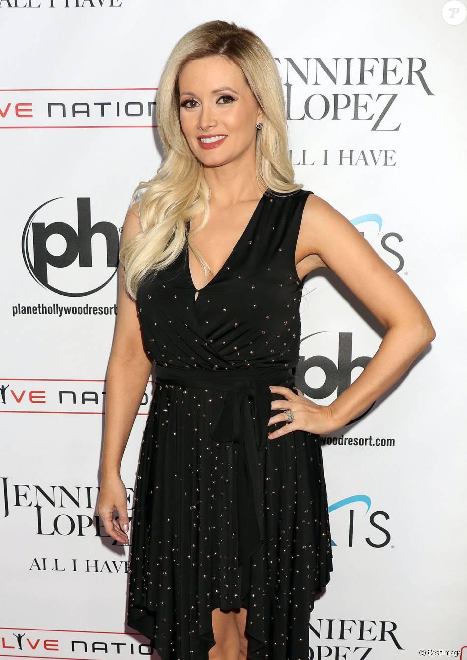 Holly Madison à la première représentation de All I Have, le nouveau show de Jennifer Lopez, au Planet Hollywood Resort & Casino à Las Vegas, le 20 janvier 2016.