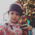 Rainbow Aurora Rotella, fille de Holly Madison et son mari Pasquale Rotella, en décembre 2015. Photo du compte Instagram de Holly Madison.