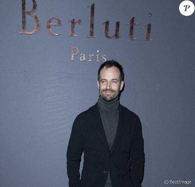 Benjamin Millepied-Défilé Berluti (collection homme automne-hiver 2016-2017) au Tennis Club de Paris. Paris, le 22 janvier 2016