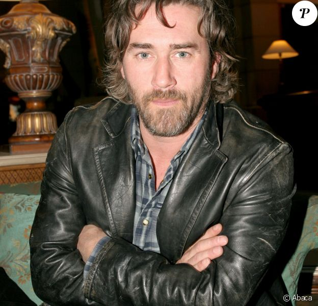 Roy Dupuis à Paris, le 1er avril 2005.