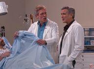 """George Clooney de retour dans """"Urgences""""... avec le """"Dr House"""" Hugh Laurie"""