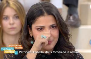 Gyselle Soares, en larmes :