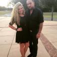 Chris Carney et Tiffany Thornton / photo postée sur Instagram, au mois de septembre 2015