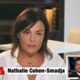 """Nathalie, la mère de Kev Adams, se confie à Michel Drucker dans """"Vivenement dimanche"""" sur France 2, le 7 février 2016."""