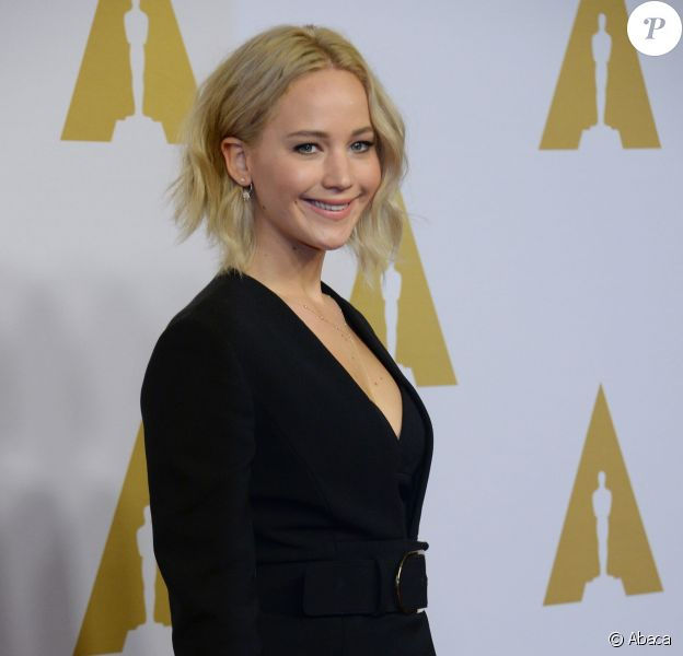 Actress Jennifer Lawrence attends the 88th annual Academy Awards Oscar nominees luncheon at the Beverly Hilton Hotel in Beverly Hills, Los Angeles, CA, USA, on February 8, 2016. Photo by Jim Ruymen/UPI/ABACAPRESS.COM09/02/2016 - Los Angeles