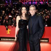 Berlin 2016 : George Clooney et sa femme Amal, étincelante, ouvrent le show !