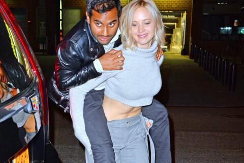 Jennifer Lawrence en tête à tête avec Aziz Ansari pour la Saint-Valentin...