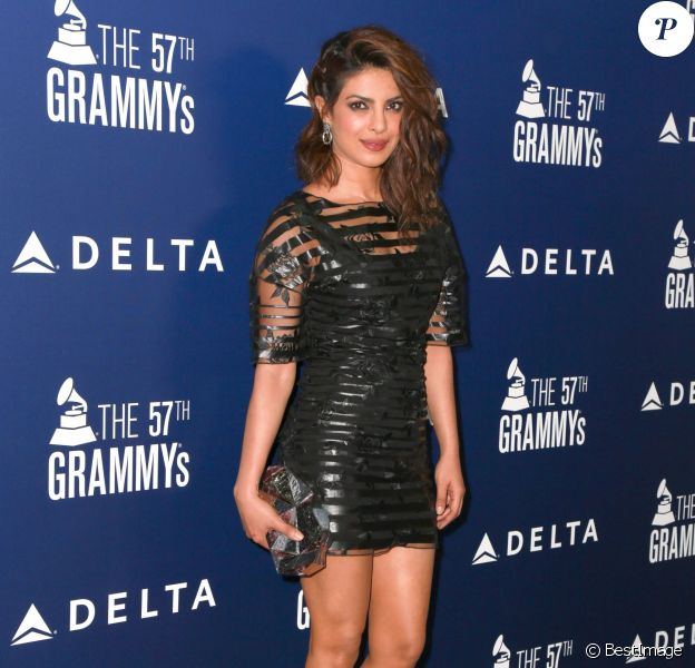 "Priyanka Chopra - Soirée ""Delta Air Lines Toasts 2015 Grammy Weekend"" à West Hollywood. Le 5 février 2015"