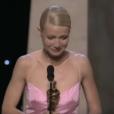 Cérémonie des Oscars : Gwyneth Paltrow, oscar de la meilleure actrice en 1999 pour Shakespeare in Love