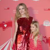 Natalia Vodianova et sa fille : Soirée magique et précieuse avec Karlie Kloss