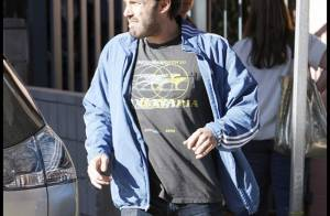 REPORTAGE PHOTOS : Ben Affleck, un papa toujours aussi... grognon !