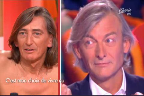 """Gilles Verdez (TPMP) nu dans """"C'est mon choix"""" ? Un sosie naturiste troublant !"""