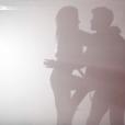 Rayane Bensetti et Denitsa Ikonomova, très complices lors d'une danse chorégraphiée par Chris Marques. Février 2016.