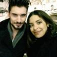 """Alia et Ali (""""Secret Story 9""""). Après Milan, le tendre duo profite d'un séjour à Venise ! Janvier 2016."""