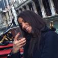 """Alia et Ali (""""Secret Story 9""""). Après Milan, l'inséparable duo profite d'un séjour à Venise ! Janvier 2016."""